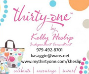 Thirty-One | Kelly Heslip